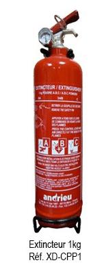 Cisaille de pompier 1 kg